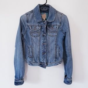 Abercrombie & Fitch Jackets & Coats - A&F Distressed Jean Jacket